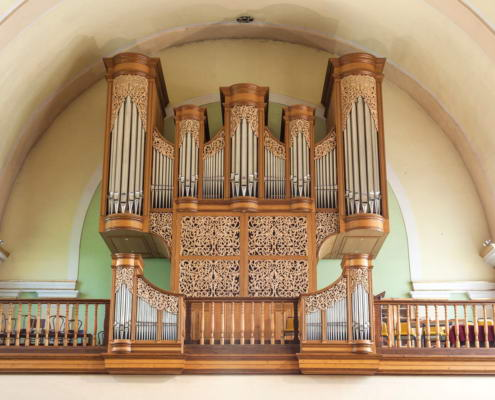 Zamárdi katolikus templom orgonája